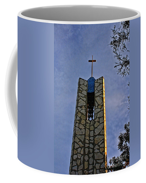 Southern California Coffee Mug featuring the photograph Southern California's Wafarers Chapel 1 by Tommy Anderson