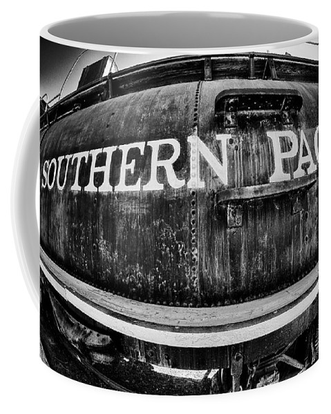 Old Coffee Mug featuring the photograph Southern Pacific by Cat Connor