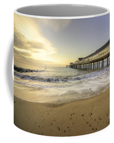 Southwold Coffee Mug featuring the photograph Southwold Pier by Rob Hawkins