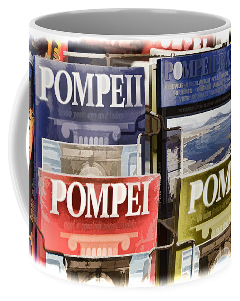 Pompei Coffee Mug featuring the photograph Souvenirs Of Pompei by Jon Berghoff