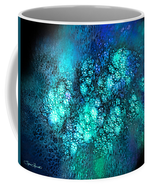 Fractal Coffee Mug featuring the photograph Space 01 by Sylvia Thornton
