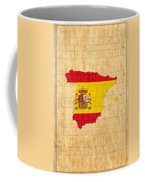 Spain Coffee Mug featuring the photograph Spain by Andrew Fare