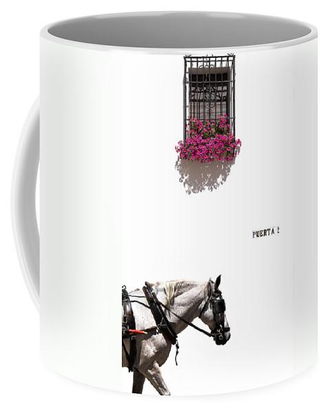 Spain Coffee Mug featuring the photograph Spanish Scene by Mal Bray