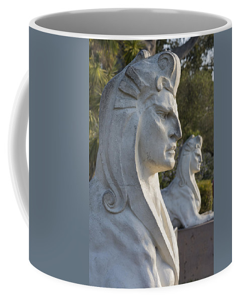 Sphinx Coffee Mug featuring the photograph Sphinxes by Bruce Frye