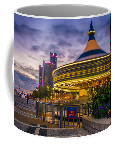 Detroit Coffee Mug featuring the photograph Spin Me Round by Pravin Sitaraman