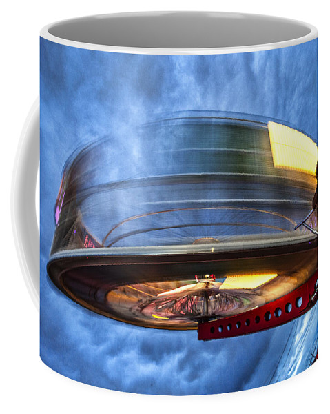 County Fair Coffee Mug featuring the photograph Spinning Up The Universe by Diana Powell