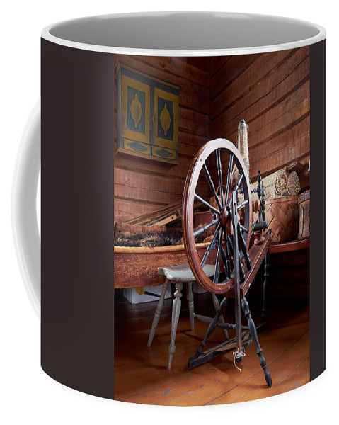 Finland Coffee Mug featuring the photograph Spinning Wheel by Jouko Lehto