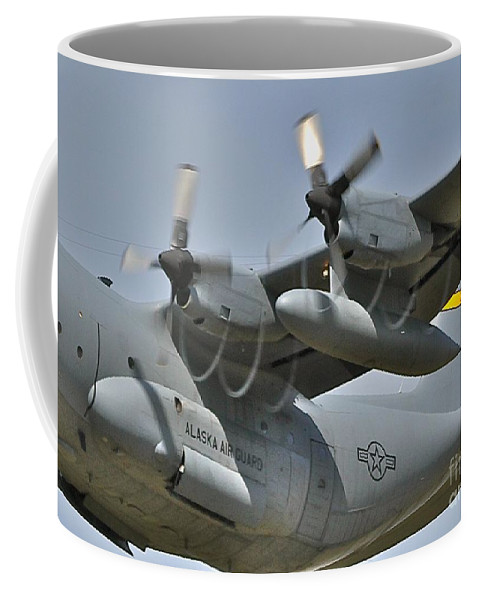 C-130 Coffee Mug featuring the photograph Spirals by Rick Monyahan