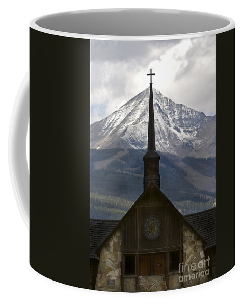 Landscapes Coffee Mug featuring the photograph Spiritual Skies by Wildlife Fine Art