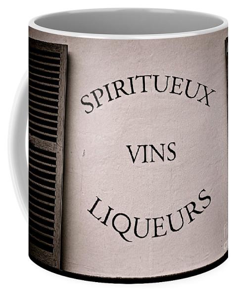 Spirit Coffee Mug featuring the photograph Spiritueux Vins Liqueurs by Olivier Le Queinec