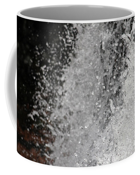 Fine Art Photography Coffee Mug featuring the photograph Splashing Water by Ulli Karner
