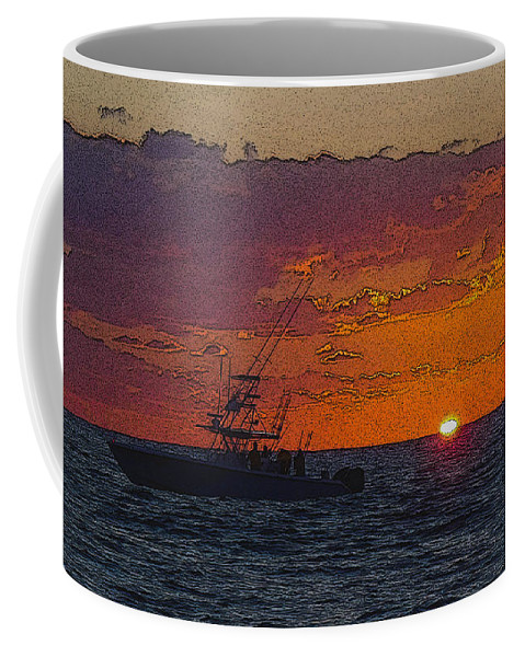 Sportfishing Coffee Mug featuring the photograph Sport Fisher by Carey Chen