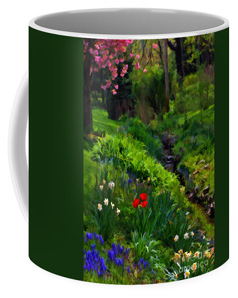 Spring Coffee Mug featuring the photograph Spring Blossoms by Geoff Crego