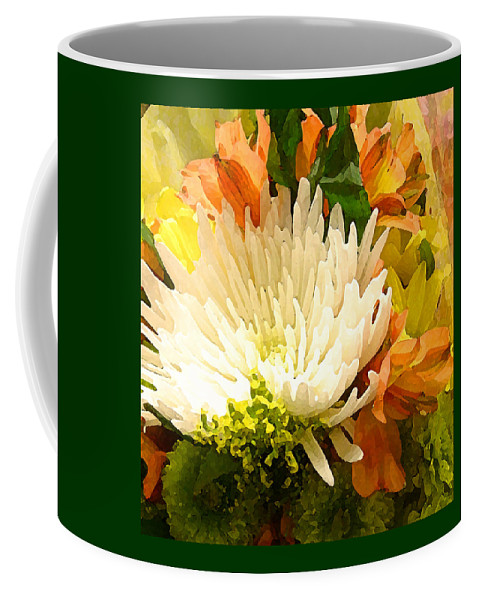 Roses Coffee Mug featuring the painting Spring Flower Burst by Amy Vangsgard
