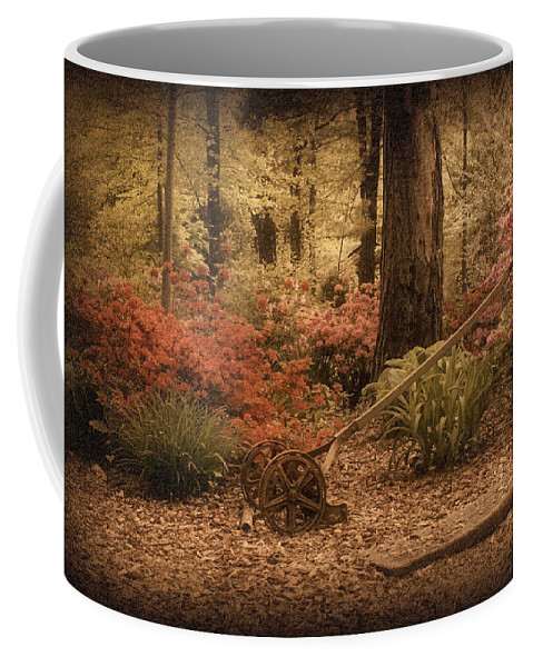 Lawn Mower Coffee Mug featuring the photograph Spring Garden by Sandy Keeton