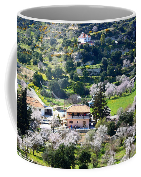 Paradise Coffee Mug featuring the photograph Spring In A Village by Augusta Stylianou