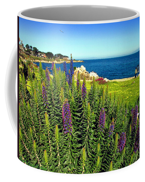Spring Coffee Mug featuring the photograph Spring In Pacific Grove Ca Two by Joyce Dickens