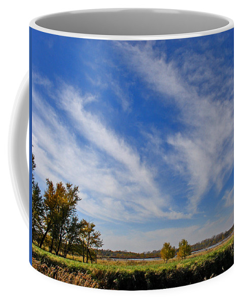 Landscape Coffee Mug featuring the photograph Squaw Creek Landscape by Steve Karol