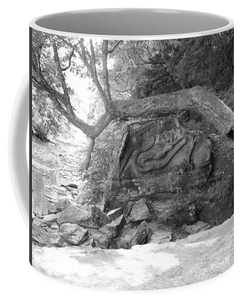 Squaw Rock Coffee Mug featuring the photograph Squaw Rock by Michael Krek