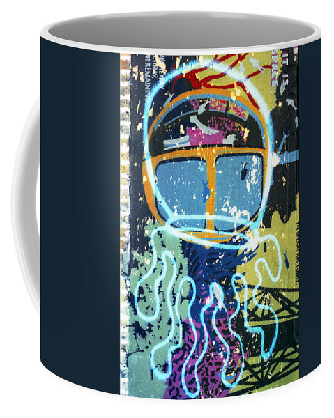 Brooklyn Coffee Mug featuring the photograph Squid On The Loose by Rosie McCobb
