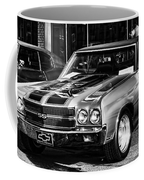 Coffee Mug featuring the photograph Ss Chevelle by Cathy Anderson