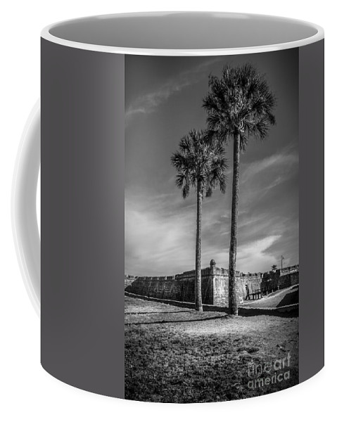 Fort Coffee Mug featuring the photograph St. Augustine Fort by Marvin Spates