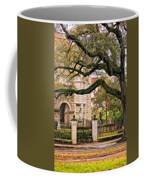Home Coffee Mug featuring the photograph St. Charles Ave. by Steve Harrington