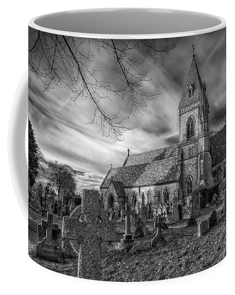 St. David Coffee Mug featuring the photograph St David's Pantasaph by Adrian Evans