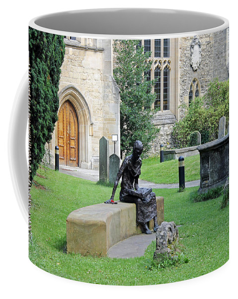 St Edmund Of Abingdon Coffee Mug featuring the photograph St Edmund Of Abingdon by Tony Murtagh