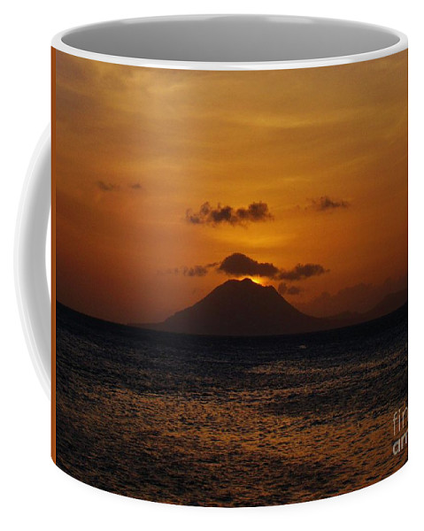 St Eustatius Coffee Mug featuring the photograph St Eustatius by Janell R Colburn