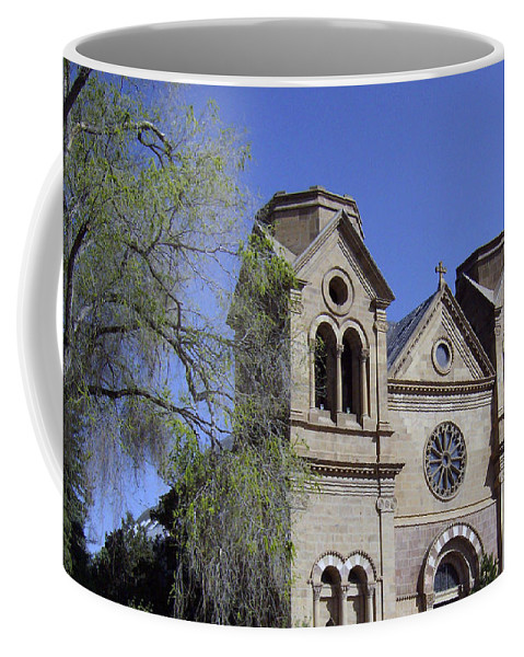 St. Francis Coffee Mug featuring the photograph St. Francis Of Assisi Church by Lovina Wright