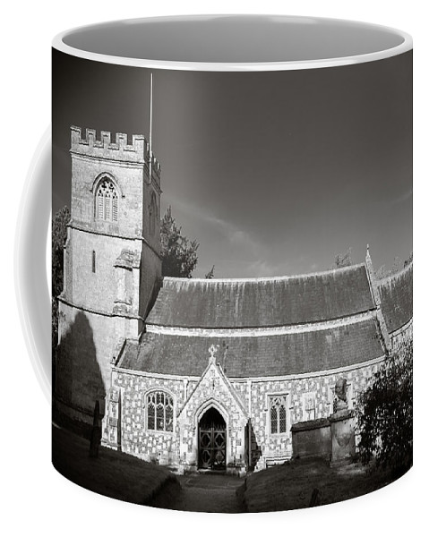 Arch Coffee Mug featuring the photograph St Georges Church Preshute by Mark Llewellyn