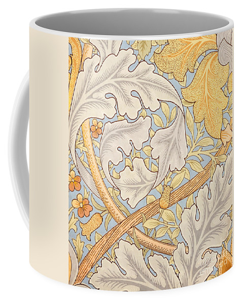 St James Coffee Mug featuring the painting St James Wallpaper Design by William Morris