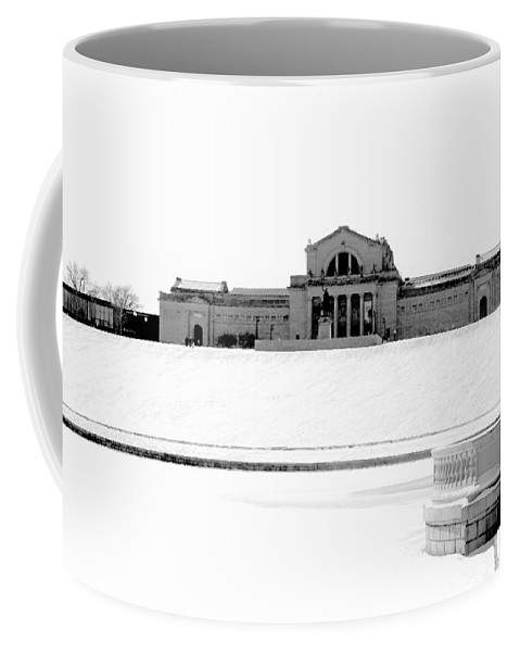 St Coffee Mug featuring the photograph St Louis Art Museum And Art Hill by Larry Jost