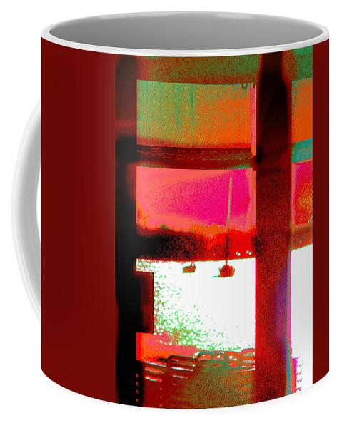 Seascape Coffee Mug featuring the photograph St Maartin Three by Expressionistart studio Priscilla Batzell