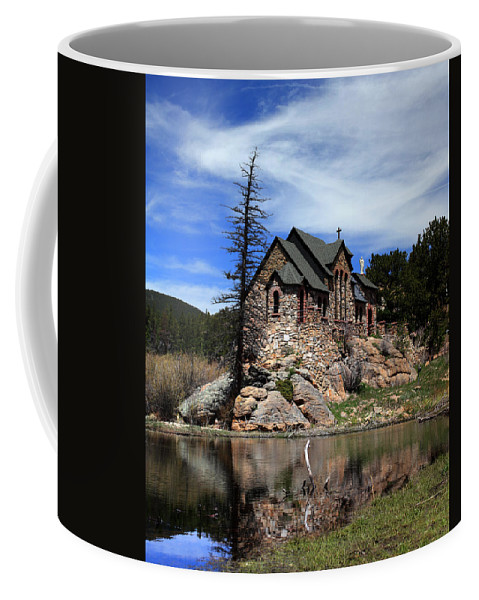 St. Malo Coffee Mug featuring the photograph St. Malo Chapel by Shane Bechler