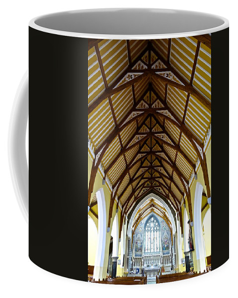 Church Coffee Mug featuring the photograph St Mary's Cathedral by Charlie Brock