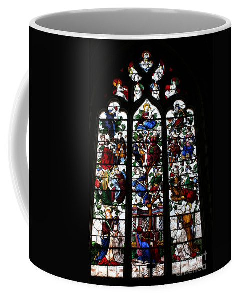 Stained Glass Window Coffee Mug featuring the photograph Stained Glass Window I by Christiane Schulze Art And Photography