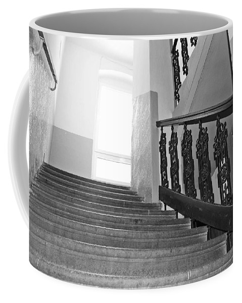 Stairs Coffee Mug featuring the photograph Stairs by FL collection