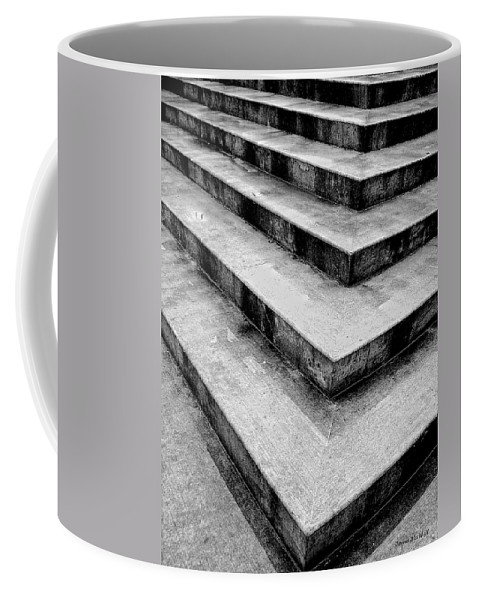 Concrete Coffee Mug featuring the photograph Stairway To Nowhere by Donna Blackhall