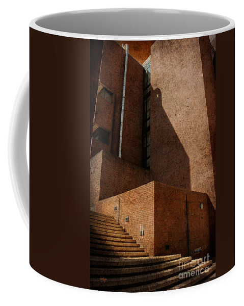Stairs Coffee Mug featuring the photograph Stairway To Nowhere by Lois Bryan