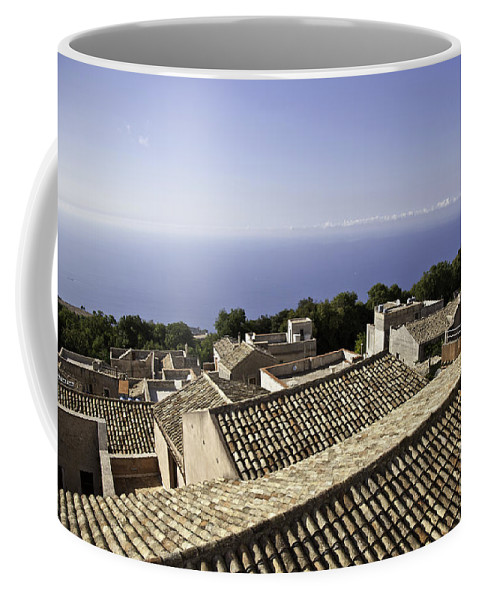 Dubrovnik Coffee Mug featuring the photograph Standing On Top Of The World by Madeline Ellis