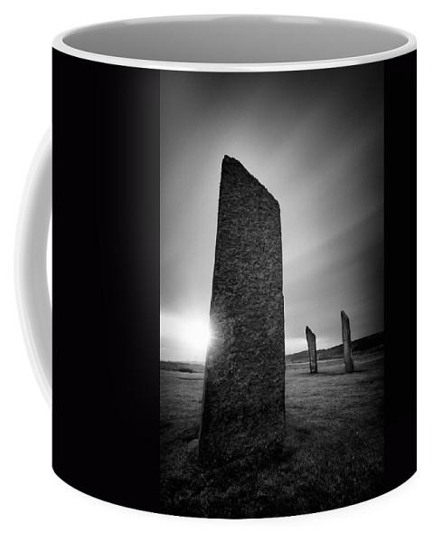 Standing Stones Of Stenness Coffee Mug featuring the photograph Standing Stones Of Stenness by Dave Bowman