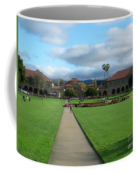 Stanford University Coffee Mug featuring the photograph Stanford University by Mini Arora