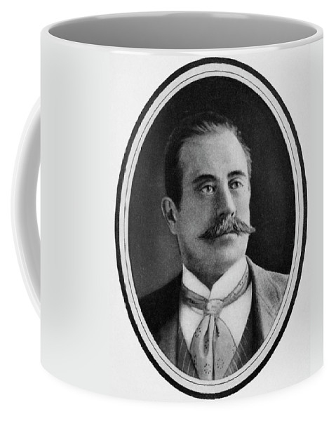 19th Century Coffee Mug featuring the photograph Stanford White (1853-1906) by Granger