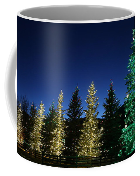 Christmas Cards Coffee Mug featuring the photograph Star Light Star Bright by Marty Fancy
