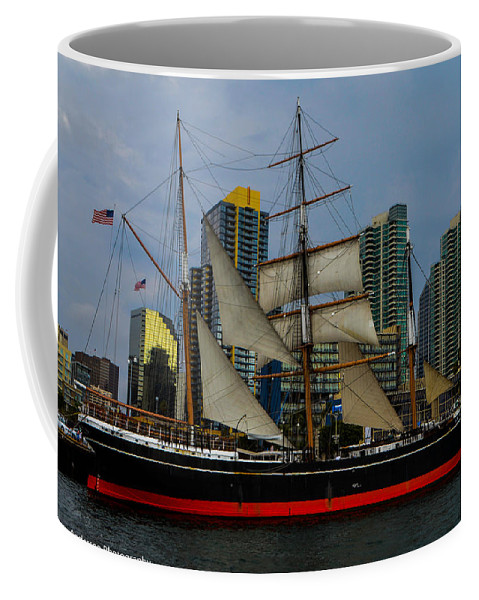 California Coffee Mug featuring the photograph Star Of India 2014 by Tommy Anderson