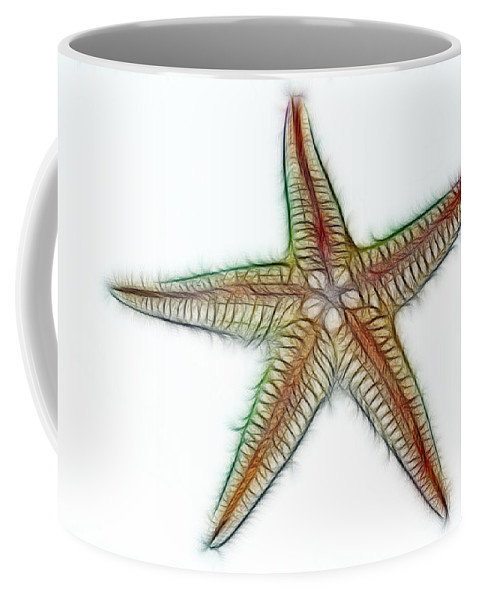 Photography Coffee Mug featuring the photograph Starfish Art 2 by Kaye Menner