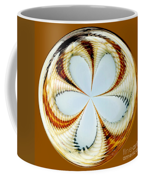 Photography Coffee Mug featuring the photograph Starfish To Flower - Orb by Kaye Menner