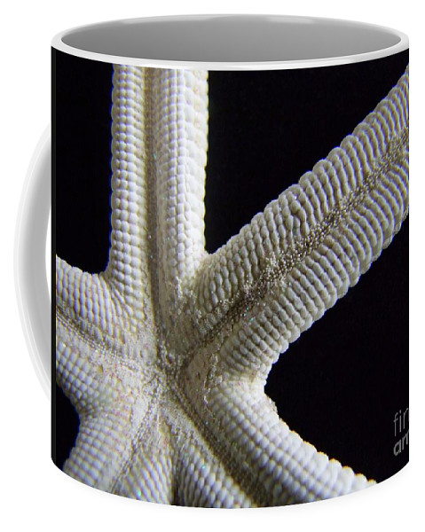 Mary Deal Coffee Mug featuring the photograph Starfish Underworld by Mary Deal